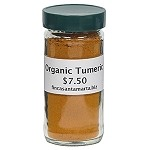 Turmeric Root - Ground - Organic - Bottle