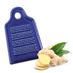 Ginger Grater - Cobalt Blue Porcelain - Each